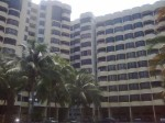 pemandangan apartment bidara puteri